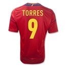 Spain 11/13 TORRES Home Soccer Jersey