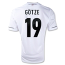 Germany 11/13 GOTZE Home Soccer Jersey