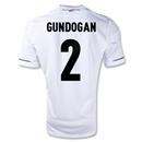 Germany 11/13 GUNDOGAN Home Soccer Jersey