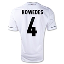 Germany 11/13 HOWEDES Home Soccer Jersey