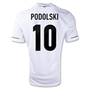 Germany 11/13 PODOLSKI Home Soccer Jersey
