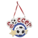 Soccer Circle Ornament