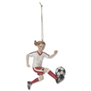 Soccer Girl Holiday Ornament