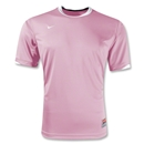 Nike Tiempo Soccer Jersey (Pink/White)