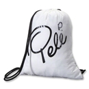 Pele Signature Gym Sack (White)