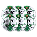 Select Royale Green Game Ball 6 Pack