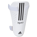 adidas 11Nova Lite Shinguards (White/Black)