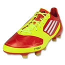 adidas F50 adizero TRX FG Synthetic Cleats (High Energy/Electricity/White)