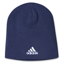 adidas Cuffless Knit Beanie (Navy)