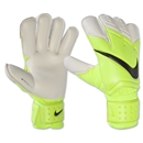 Nike GK Vapor Grip3 Glove (White/Flourescent Green)