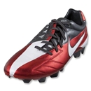 Nike Total90 Laser IV KL-FG Cleats (Challenge Red/White/Anthracite)
