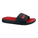 Nike Benassi Solarsoft Slide-Black/Sport Red