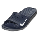 Nike Solarsoft Slide-Midnight Navy/White