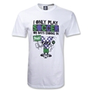 I Only Play Soccer on Days Ending in Y T-Shirt (Wh/Gr)