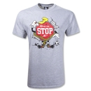 Nobody Can Stop Me T-Shirt (Gray/Red)