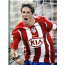 Fernando Torres SIgned Atletico Madrid Photo