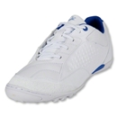 Pele 50/50 Turf Soccer Shoes (Running White/Varsity Royal/Tour Yellow)