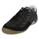 Pele Radium Indoor Soccer Shoes (Black/Running White/Light Gum)