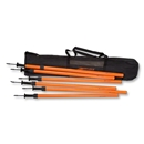 Telescopic Agility Pole-Set of 6