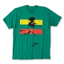 Forrio Kickers Stripe Soccer T-Shirt (Green)