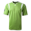 adidas MLS Match Jersey (Lime/White)