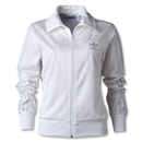 adidas Originals Women's Firebird Track Top (White/Gray)
