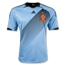 Spain 12/13 Away Soccer Jersey