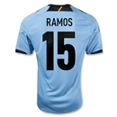 Spain 12/13 RAMOS Away Soccer Jersey
