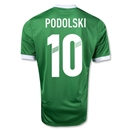 Germany 12/13 PODOLSKI Away Soccer Jersey