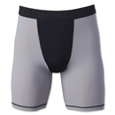 Two-Tone Compression Shorts (Sv/Bk)