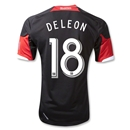 DC United 2013 DELEON Authentic Primary Soccer Jersey