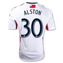 New England Revolution 2012 ALSTON Away Replica Soccer Jersey