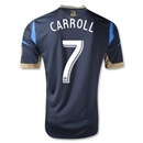 Philadelphia Union 2013 CARROLL Authentic Primary Soccer Jersey