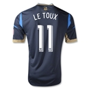 Philadelphia Union 2013 LE TOUX Authentic Primary Soccer Jersey