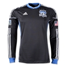 San Jose Earthquakes 2013 Primay Long Sleeve Authentic Soccer Jersey
