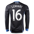 San Jose Earthquakes 2013 LENHART Authentic LS Primary Soccer Jersey