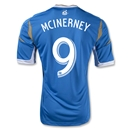 Philadelphia Union 2013 MCINERNEY Authentic Secondary Soccer Jersey