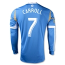 Philadelphia Union 2013 CARROLL Authentic LS Secondary Soccer Jersey