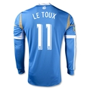 Philadelphia Union 2014 LE TOUX Authentic LS Secondary Soccer Jersey