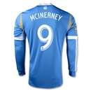 Philadelphia Union 2013 MCINERNEY Authentic LS Secondary Soccer Jersey