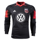 D.C United 2013 Long Sleeve Authentic Home Soccer Jersey