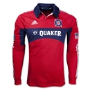 Chicago Fire 2013 Primary Long Sleeve Authentic Soccer Jersey