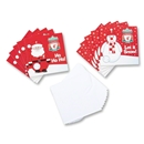Liverpool 10-pk Soccer Holiday Cards