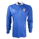 Italy 2012 Home Long Sleeve Soccer Jersey