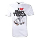 I Heart Nutmegs T-Shirt (White)