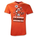 Again & Again & Again T-Shirt (Orange)