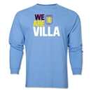 Aston Villa We Are Villa LS T-Shirt (Sky Blue)