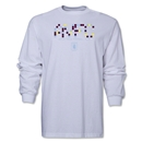 Aston Villa Pixel Graphic LS T-Shirt (White)