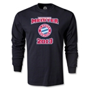 Bayern Munich 2013 LS Deutscher Meister T-Shirt (Black)