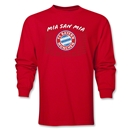 Bayern Munich Mia San Mia LS T-Shirt (Red)